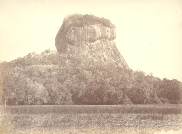 photos of Sigiriya from 1800'd and early 1900's