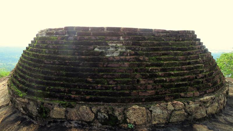 Ancient Pagoda - Prehistoric Kuragala