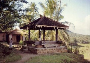 Godamunne Ambalama Image Source : Buddhist monastic architecture in Sri Lanka: the woodland shrines