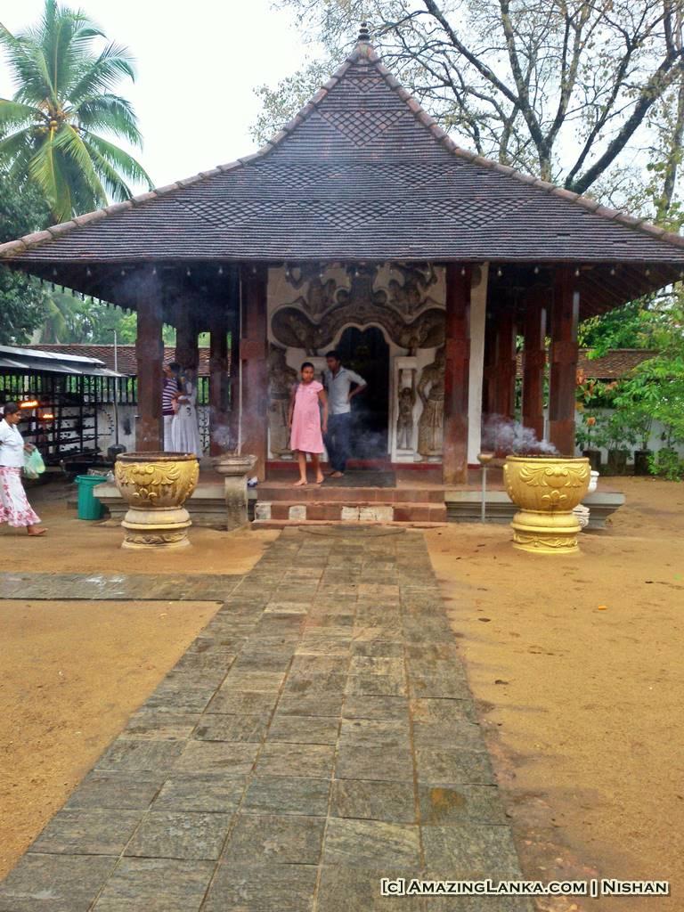 The Buduge at Maha Saman Devalaya, Ratnapura
