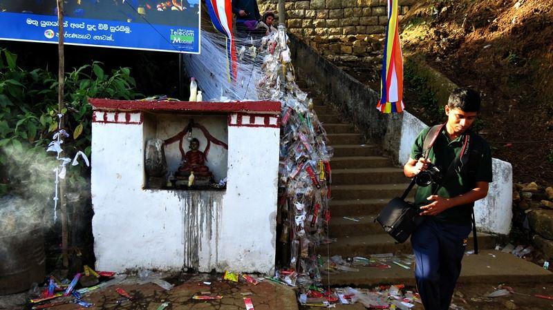 Getham Pahana— at Sripada Temple, Adam's Peak.