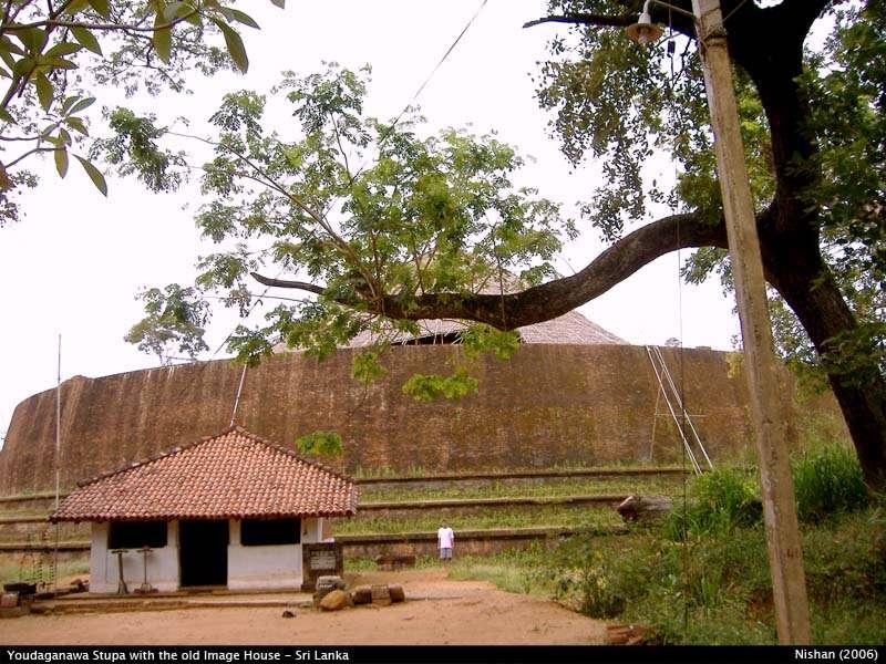 Yudaganawa Stupa and the image house