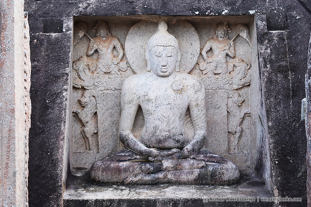 Exquisitely carved Samadhi Statue at Thantirimale