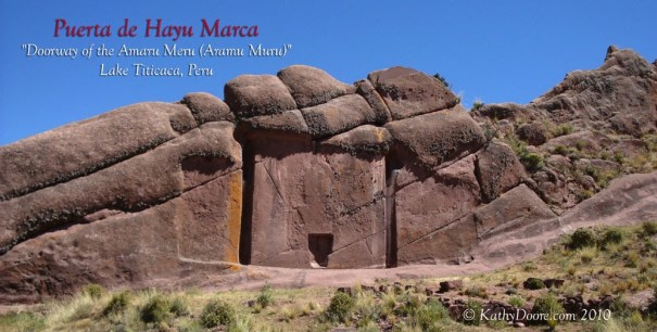 La Puerta de Hayu Marka or The Gateway to The Gods in Peru / Sakwala Chakraya or the Stargate of Ranmasu Uyana – සක්වල චක්රය