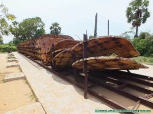 Submarine Yard of the LTTE - on Kilinochchi - Mulativu Route