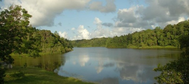 Hiyare Reservoir and and the Sanctuary