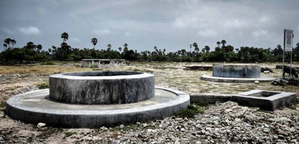 Fresh water wells of Delft island in Jaffna