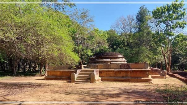 Vijayarama Aramic Complex at Anuradhapura after restoration (2021)  - අනුරාධපුර විජයාරාම පුරාවිද්යා නටබුන්