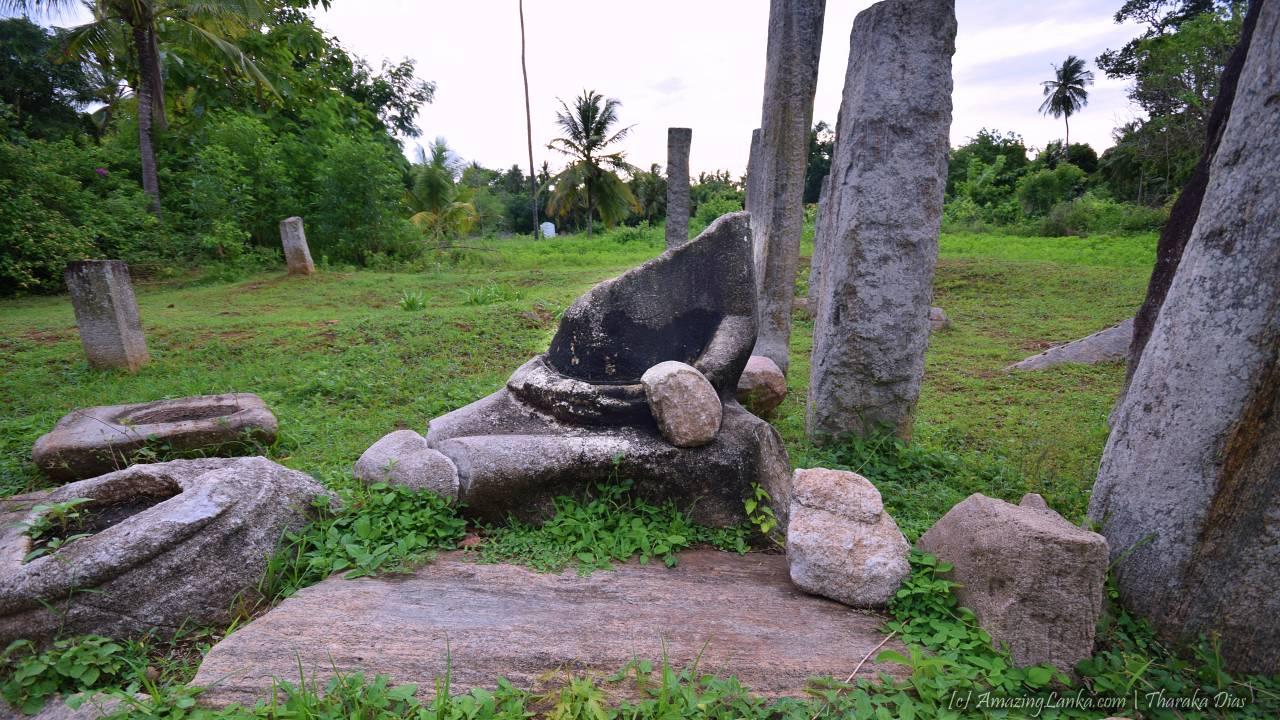 Uchchawalike Rajamaha Viharaya at Ambalantota - අම්බලන්තොට උච්චවාලික රජමහා විහාරය