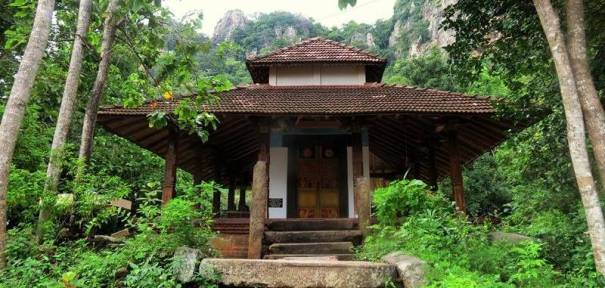 The ancient image house of the Sri Nagala Rajamaha Viharaya at Nikawewa