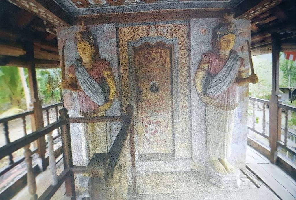 Entrance of the Jeewana Purana Tampita Viharaya