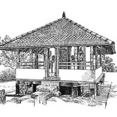 Tampita Viharaya sketch og