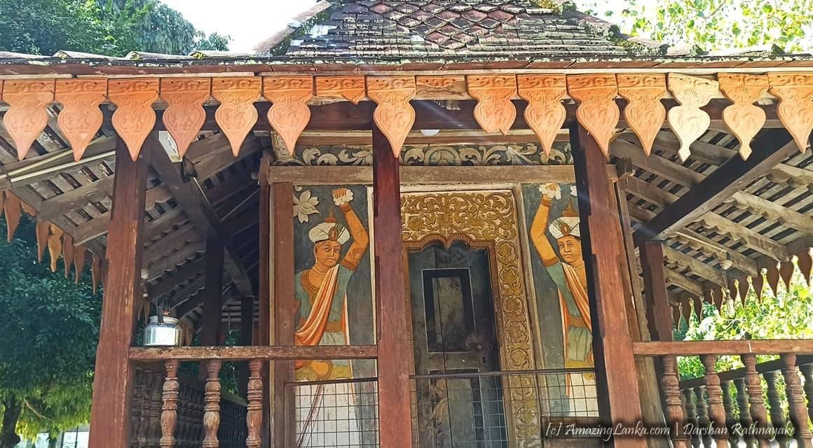 Raddalgoda Sri Jinendrarama Purana Tampita Viharaya - රද්දල්ගොඩ ශ්රී ජිනේන්ද්රාරාම පුරාණ ටැම්පිට විහාරය