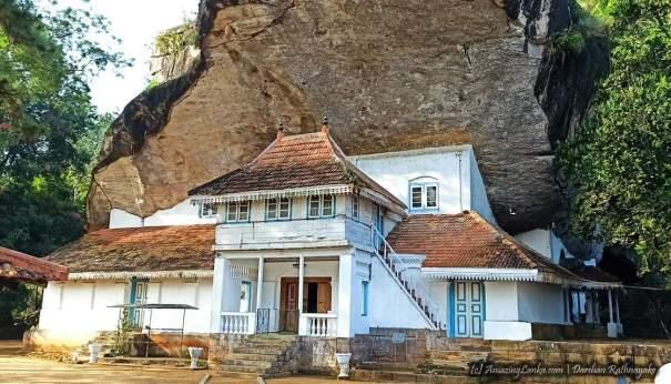 Lenagala Rajamaha Viharaya in Dedigama - දැදිගම ලෙනගල රජමහා විහාරය