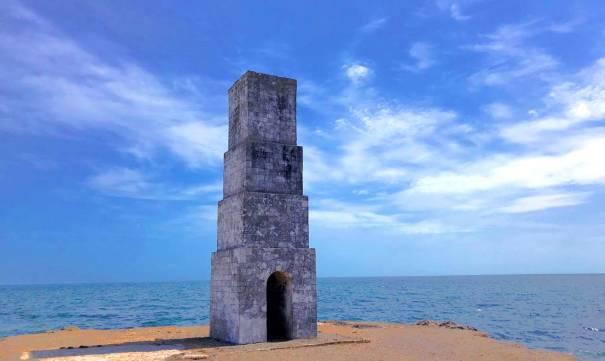 Kalmunei Old survey post in Jaffna
