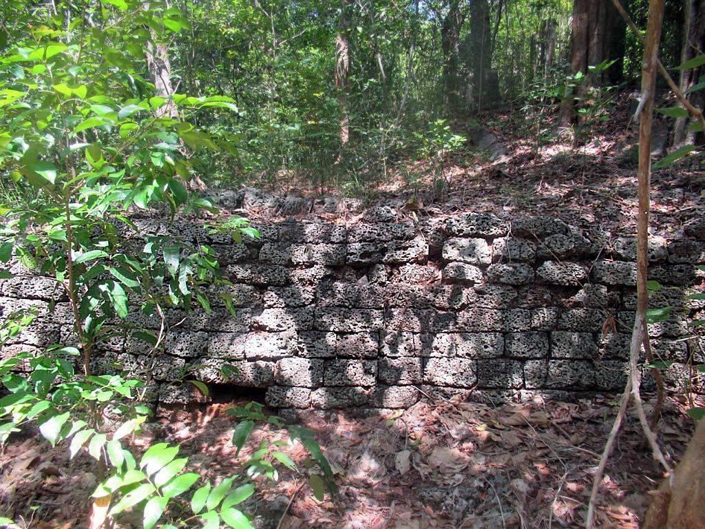 Ruins of Ancient Kurundavashoka Viharaya in Mullaitivu