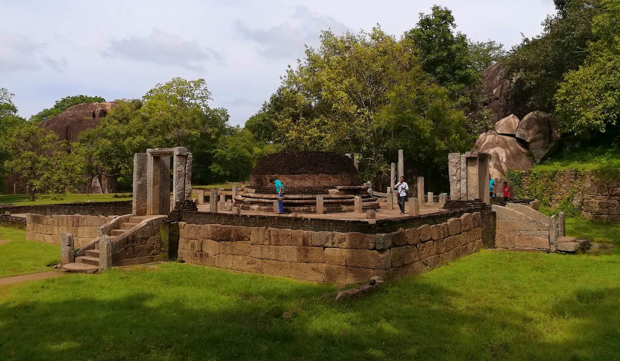 The vatadage of Hatthikuchchi Aramic Complex