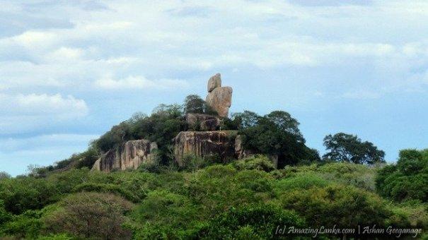 කුච්චවේලි වන මැද සැඟවුණු බඹරගල වන සෙනසුණේ පුරාවිද්යා නටබුන් - Archaeological Ruins at the Bambaragala Monastery