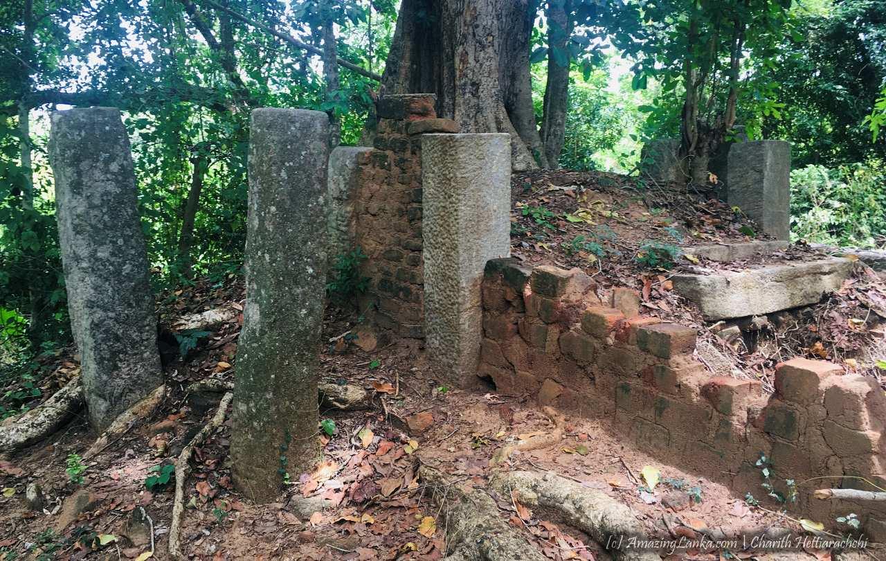 සියඹලාණ්ඩුව කදුරුගොඩ රජමහා විහාරය පුරාවිද්යා නටබුන් - Siyambalanduwa Kadurugoda Rajamaha Viharaya Archaeological Ruins