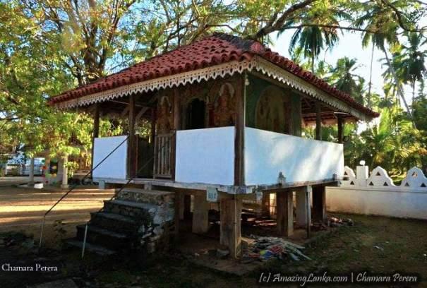 Mahawewa Sri Nagarama Purana Tampita Viharaya after restoration by the Archaeology Department in 2010 - මහවැව ශ්රී නාගාරාම පුරාණ ටැම්පිට විහාරය