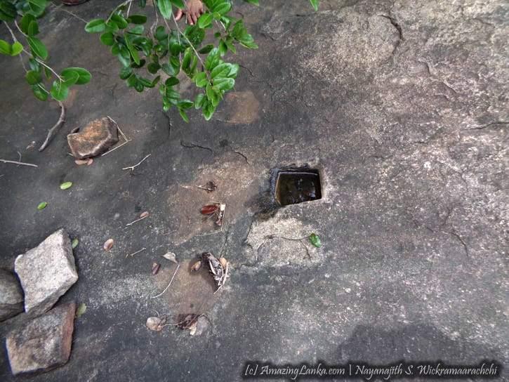 තොප්පිගල වන තුල සැඟවුණු නරකමුල්ල සංඝාරාම සංකීර්ණය පුරාවිද්යා භූමිය - Narakamulla Archeological Site at Toppigala