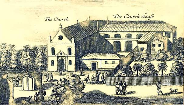 Church of Our Lady of Angels in Myliddy 1671
