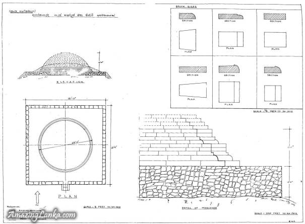 Ancient Stupa on the Gonagala Hill inside Yala National Park <br>ගෝනගල කඳු මුදුනේ ඓතිහාසික ස්තුපය