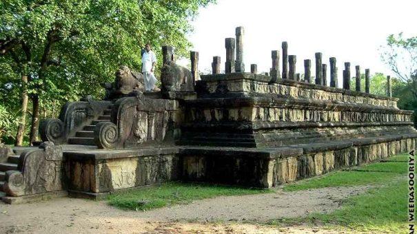 The Rajasabha Mandapaya of the Parakramabahu