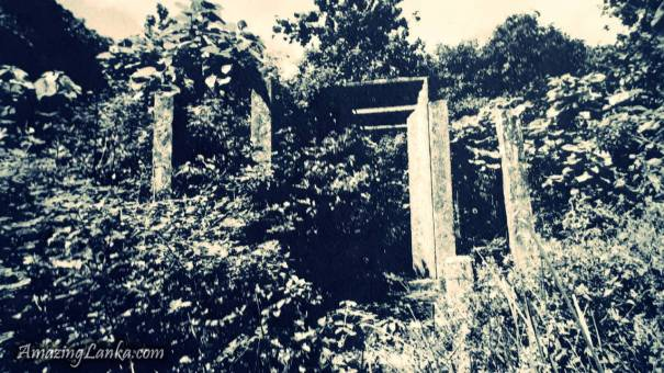 Pothgula Ruins near Singha Pokuna of Mihintale - මිහින්තලේ සිංහ පොකුණ අසළ ඇති පොත්ගුල ණටබුන්