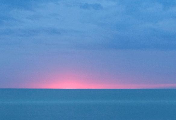 Coucher de soleil Guéthary