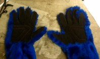 Custom mascot gloves