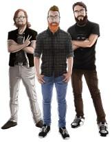Jason, Kyle & Joe (Art by Ariel Viola)