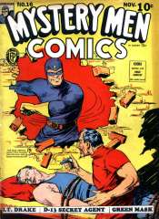 Mystery Men Comics #16 (Blue Beetle)