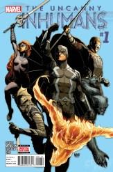 Uncanny Inhumans Vol 1 #1