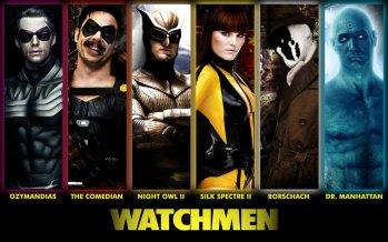 Watchmen movie characters