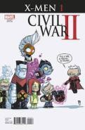 X-Men Civil War II #1 variant cover