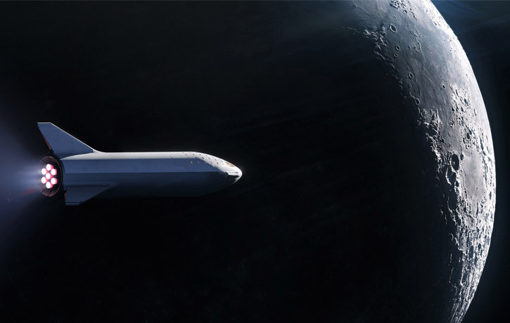 BER 2018 Moon Burn Render SpaceX