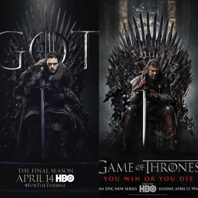 New Poster Of Game Of Thrones