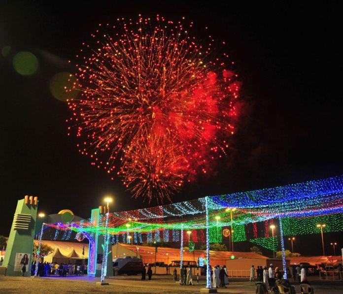 Backyard Firework Show: Fireworks Timing Muscat Festival 2018
