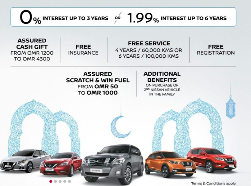 Nissan Oman 2019 Ramadan Offer - Amazing Oman