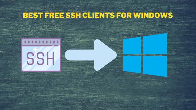 SSH Client For Windows