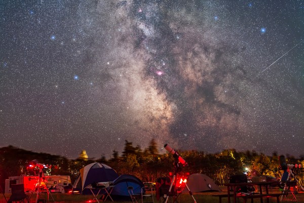 Party Under the Stars | The Amazing Sky