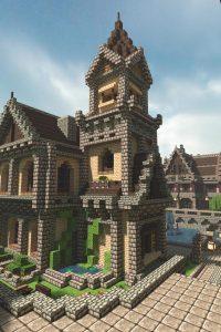 Michael Sullivan medieval minecraft house