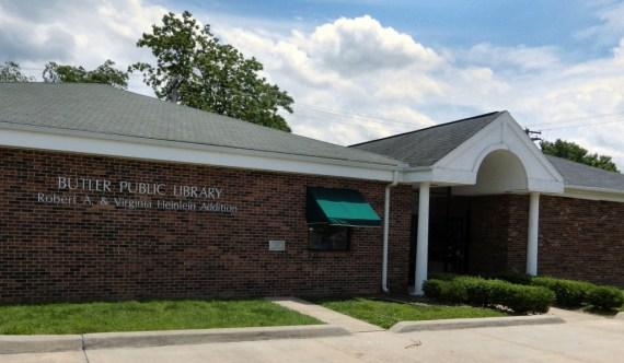 The Butler Public Library © 2013 Steve Fahnestalk