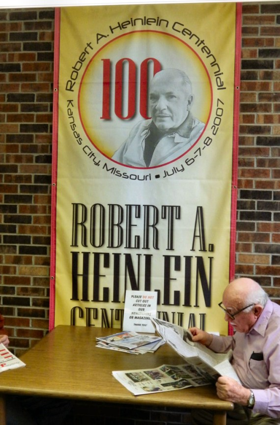 Heinlein Centennial Banner ©2013 Steve Fahnestalk
