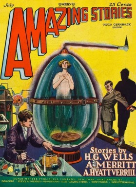 Amazing Stories July 1927