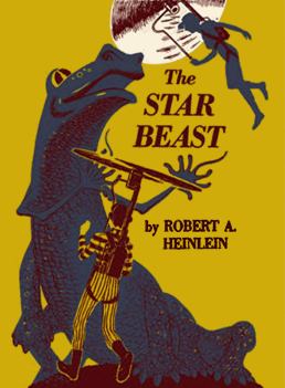 Figure 4 - The Star Beast cover by Clifford Geary