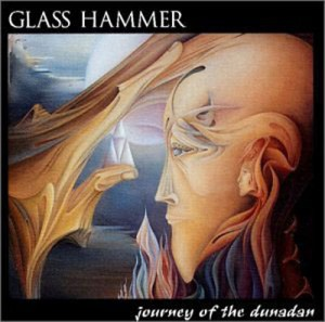 "Rosana Azar ""Journey of the Dunadan"" Fine Art created 1990, subsequently Glass Hammer concept album CD cover, 1993."