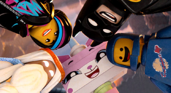 Figure 4 - Vetruvius, Wyldsyde, Batman, Spaceman, Unikitty