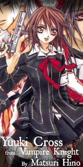 yuuki cross vampire knight